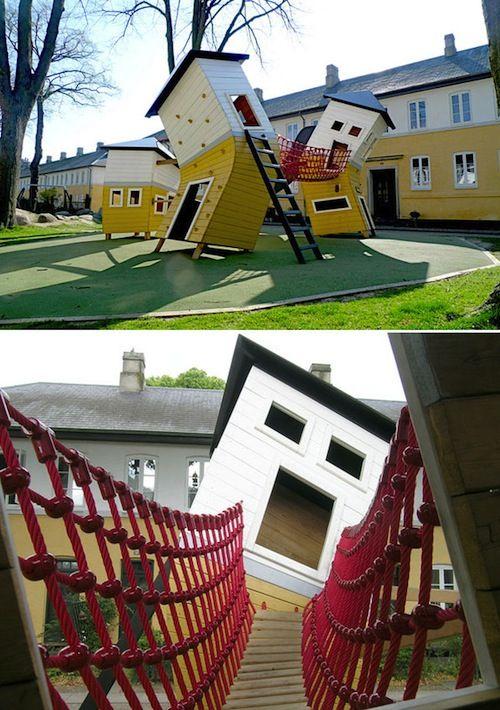 Las casas locas