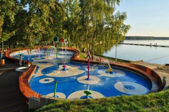 Parque infantil de agua