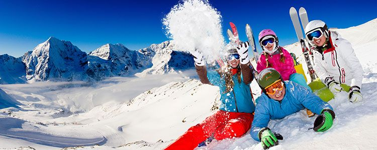 mejores estaciones de esqui para ir con ninos