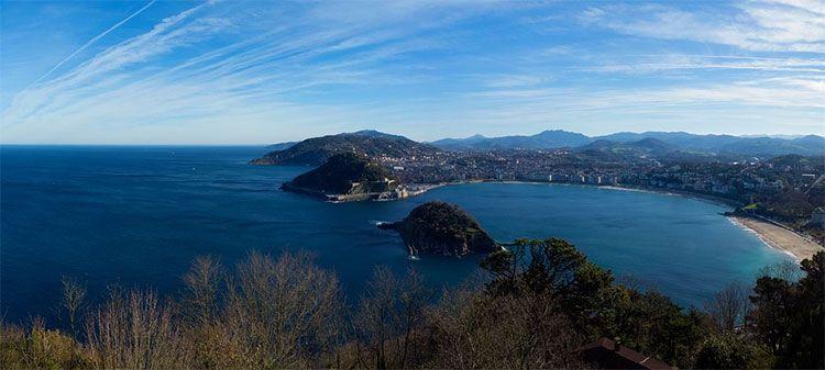 panorama de san sebastian