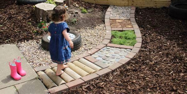 jardin de los sentidos para niños