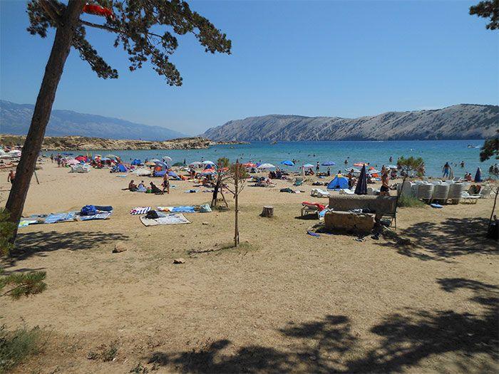 mejores playas de croacia lopar